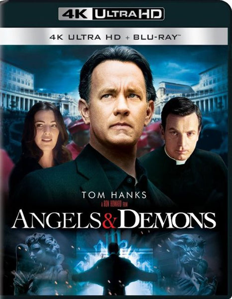 Angels & Demons [4K UHD Bluray Disc Only] - OnlyTheDisc