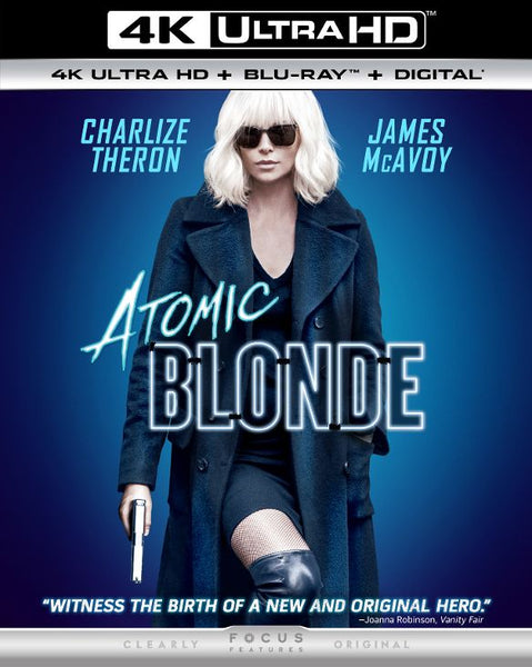 Atomic Blonde [4K UHD Bluray Disc Only] - OnlyTheDisc