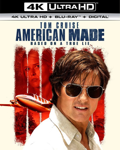 American Made [4K UHD Bluray Disc Only] - OnlyTheDisc