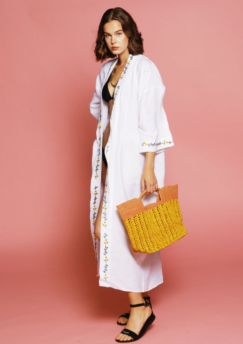women beach bag raffia sustainable fashion