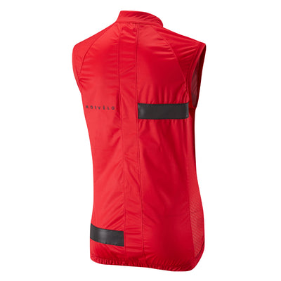 Womens Kuler Red Hurricane Gilet
