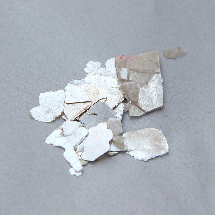 Mica Flakes 20gm - Silver