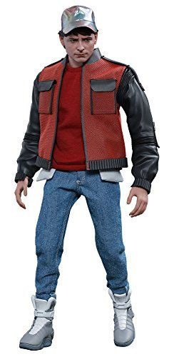 Movie Masterpiece Back to the Future PART2 Marty McFly 1/6 scale plastic painted action figure