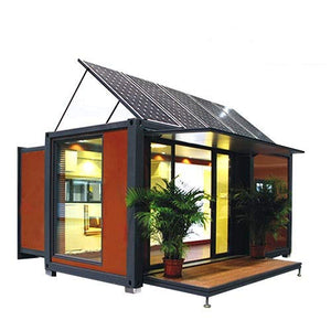 20ft/40ft expandable container house With Solar Energy
