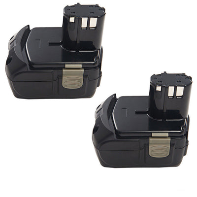 2x18V 4.0AH Li-ion Battery For Hitachi BCL1815 BCL1820 BCL1830 BCL1840 EBM1830