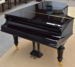 Bechstein V Grand Piano Polishing