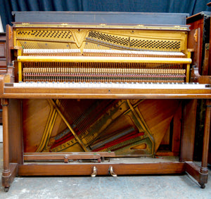 Maxime Freres of London Second Hand Upright Piano Internal Design