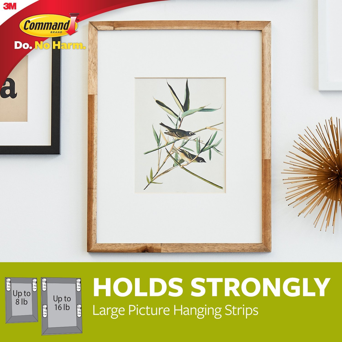 Command™ Damage-Free Picture Hanging Strips