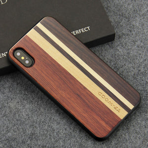 Real Wood iPhone Case – Rosewood, Walnut, Ebony, Maple Cases For iPhone XS, XS Max, XR