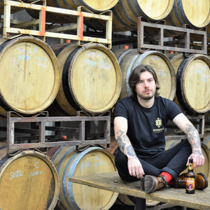 Thornbridge Black and Gold Tee