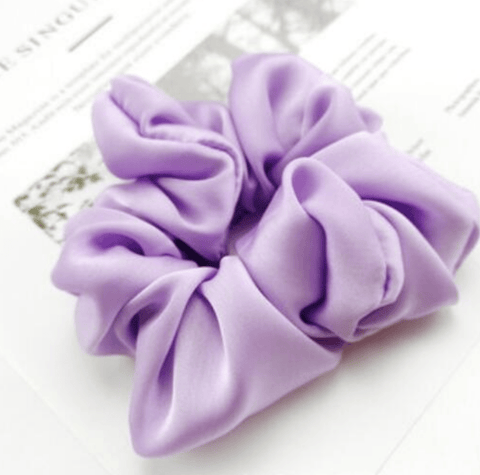 Silky Scrunchie Purple