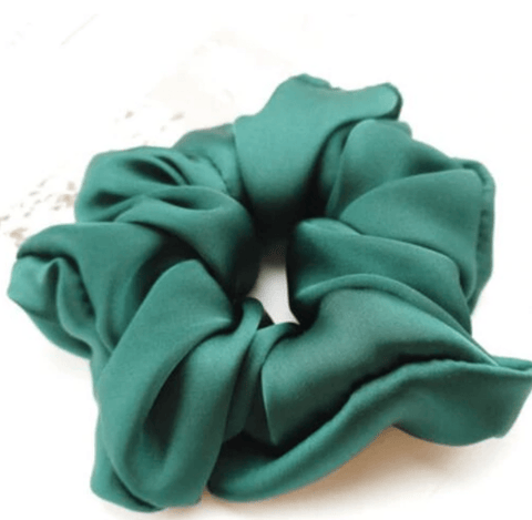 Silky Scrunchie Green