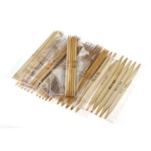 Load image into Gallery viewer, Knitting needles Set of 17 Sizes Bamboo Double Pointed needles 15cm (6 inches)