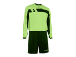 REFEREE OUTFIT LS green