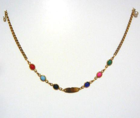 Egyptian ID Necklace