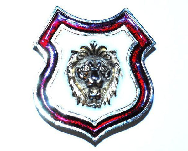 Accessocraft NYC Lion Shield Belt Buckle