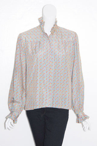 Helen Fabrikant Mini Check Blouse