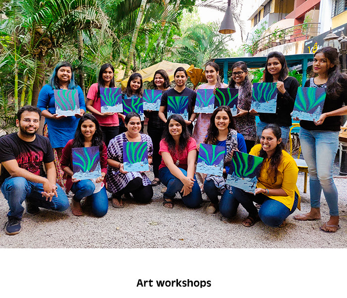 Art ( Acrylic Painting ) Workshops in Pune