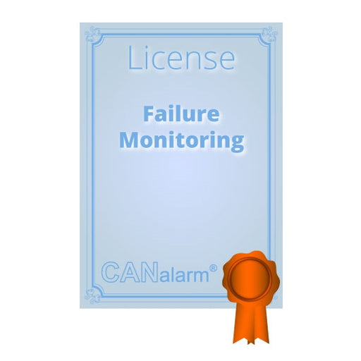 CANalarm Failure Monitoring Licence