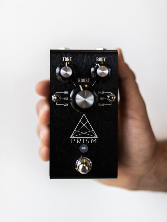 Jackson Audio Prism Preamp/Boost Black