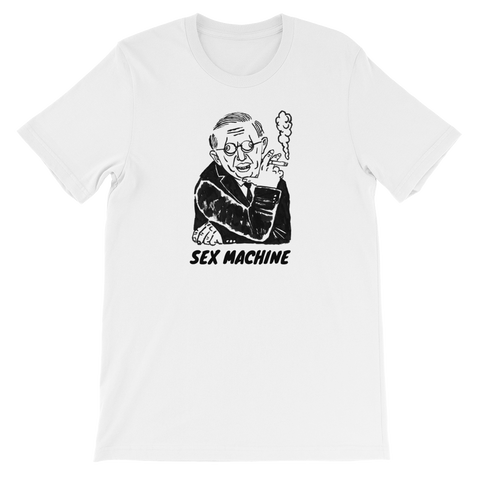 Sex Machine Unisex T-Shirt
