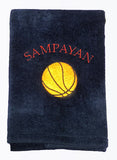 Personalized Towel - Team Towels - Machine Embroidery