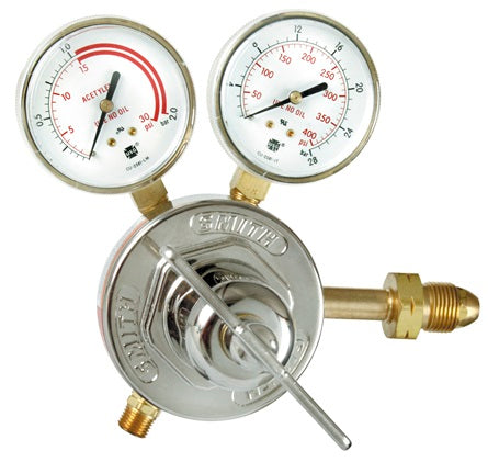 HD Acetylene regulator, 0-15 PSIG