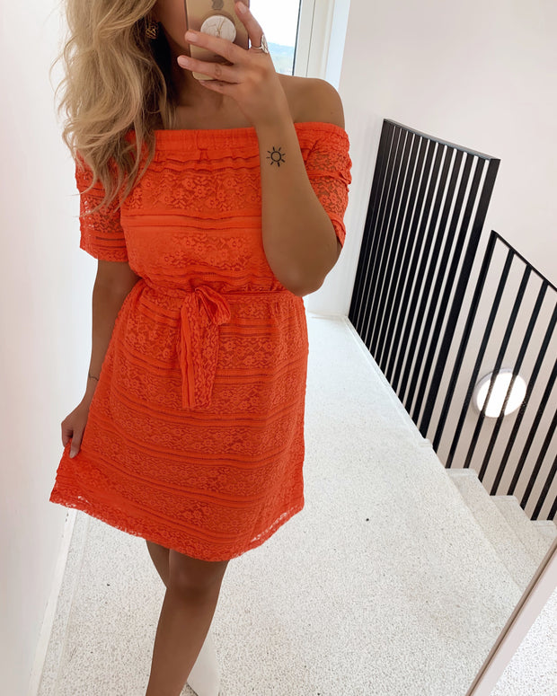 Given dress coral