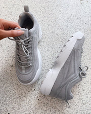 Chunky sneakers grey