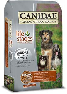 Canidae Platinum Formula for Senior & Overweight Dogs Dry Dog Food - NJ Pet Supply