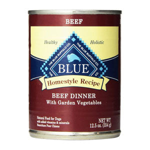 Blue Buffalo Homestyle Recipe Beef Dinner with Garden Vegetables Canned Dog Food - NJ Pet Supply