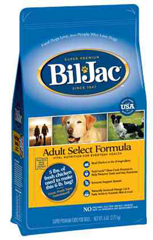 Bil Jac Select Adult Dry Dog Food - NJ Pet Supply