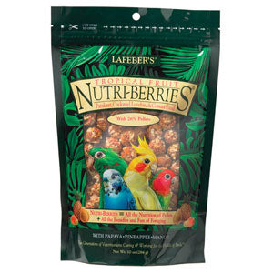 Lafeber's Gourmet Tropical Fruit NutriBerries for Cockatiels