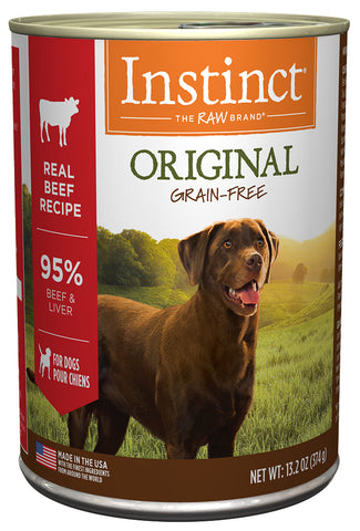 Nature's Variety Instinct Original Real Beef Recipe Canned Dog Food