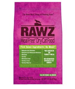 RAWZ Meal Free Dehydrated Chicken and Turkey Dry Cat Food