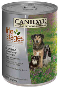 Canidae Life Stages Platinum for Seniors & Over Weight Dogs Simmered in Natural Broth Canned Food - NJ Pet Supply
