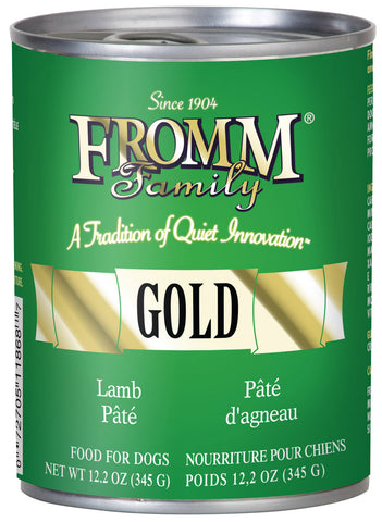 Fromm Gold Lamb Pate Canned Dog Food - NJ Pet Supply