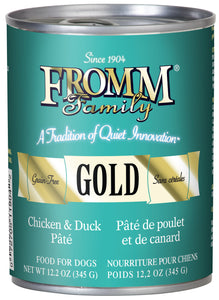 Fromm Gold Chicken and Duck Pate Canned Dog Food - NJ Pet Supply