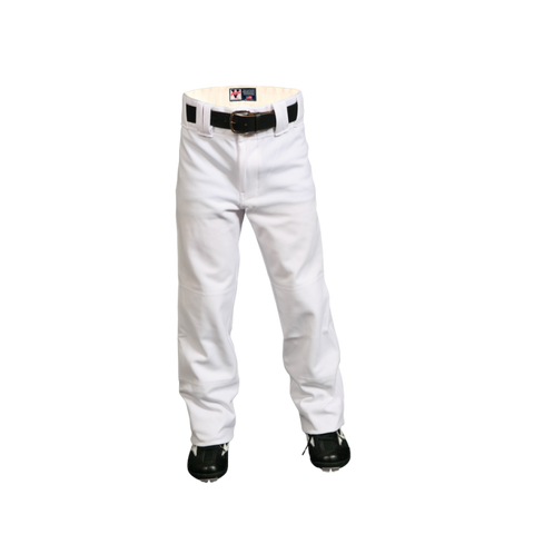 Youth Nylon Clemson Pants - White