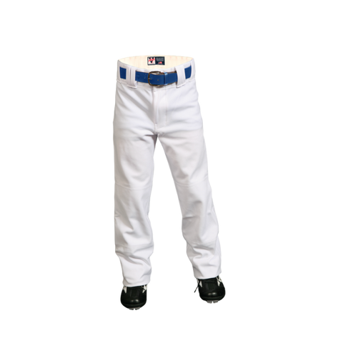 Youth Polyester Clemson Pants - White