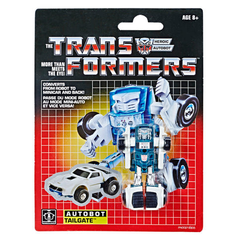 Transformers Vintage G1 Tailgate Reissue