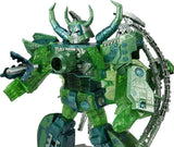 Transformers Encore Universal Dominator Unicron Green Micron Combine Color chest weapon