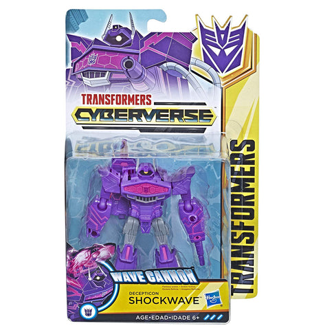 Transformers Cyberverse Warrior Class Shockwave Package box