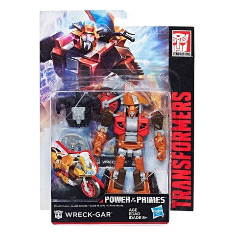 Transformers Power of the Primes Wreck-Gar Deluxe Package MISB