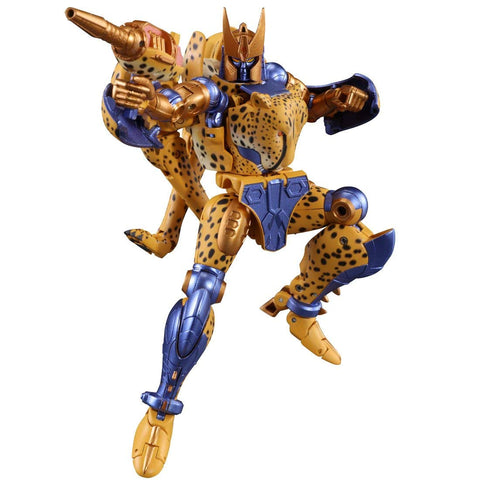 Transformers Masterpiece MP-34 Beast War Cheetus Cheetor Reissue TakaraTomy Robot Jump
