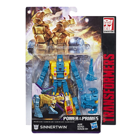 Transformers Power of the Primes Terrorcon Deluxe Sinnertwin Box Packaging