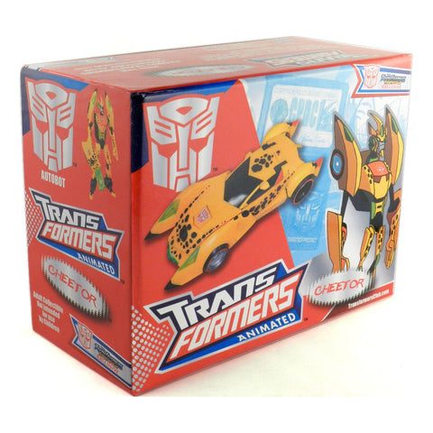 Transformers Collectors Club Animated Cheetor Box