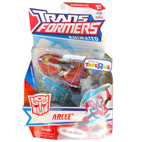 Transformers Animated Deluxe Arcee Toysrus Exclusive Package