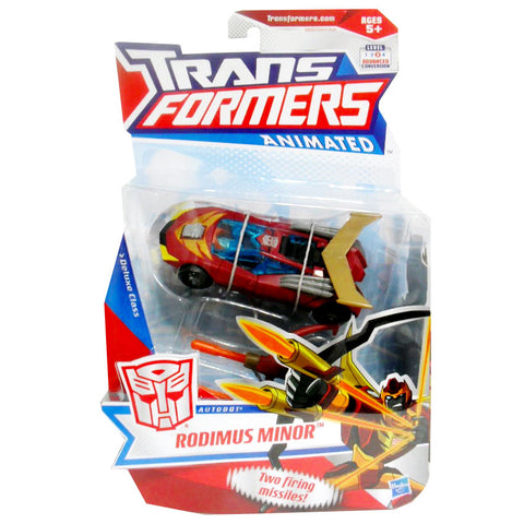 Transformers Animated Deluxe Rodimus Minor Autobot Package