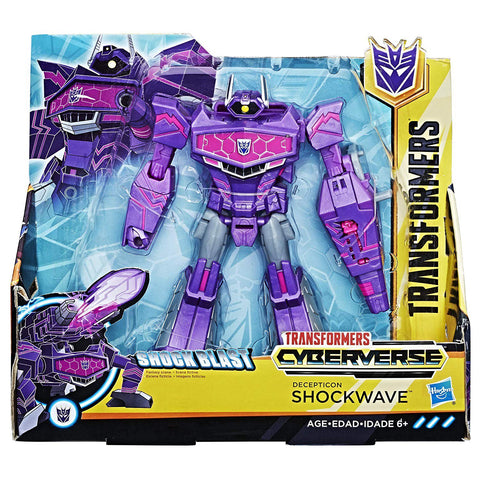 Transformers Cyberverse Ultra Class Shockwave Package box